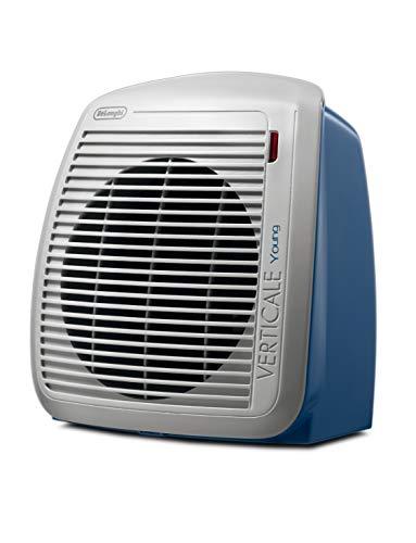 De'longhi hvy1020 termoventilatore, plastica, grigio/blu