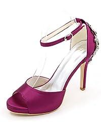 De Vestidos Zapatos Amazon Novia Para Mujer es Morado 8w1qx