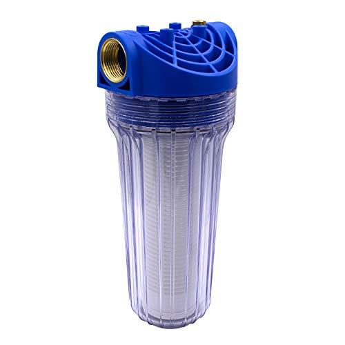"""VARIOSAN Vorfilter für Hauswasserwerke 11725, 1\"""" IG, 8 bar Betriebsdruck, 6000 l/h Durchflussmenge, 0,15 mm Maschenweite"""