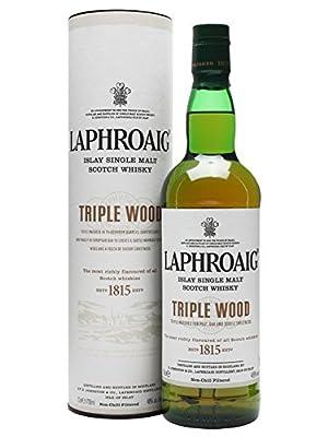 Laphroaig Triple Wood Single Malt Scotch Whisky 70cl Bottle