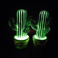 LED Nacht Lampe, Home liefert tragbare LED Kinder Nacht Lampe Kinder multicolor Silikon Kaktus Form LED Lampe Raum Dekoration-Lampe Augenschutz LED