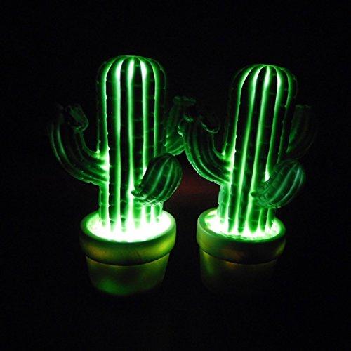 e liefert tragbare LED Kinder Nacht Lampe Kinder multicolor Silikon Kaktus Form LED Lampe Raum Dekoration-Lampe Augenschutz LED ()