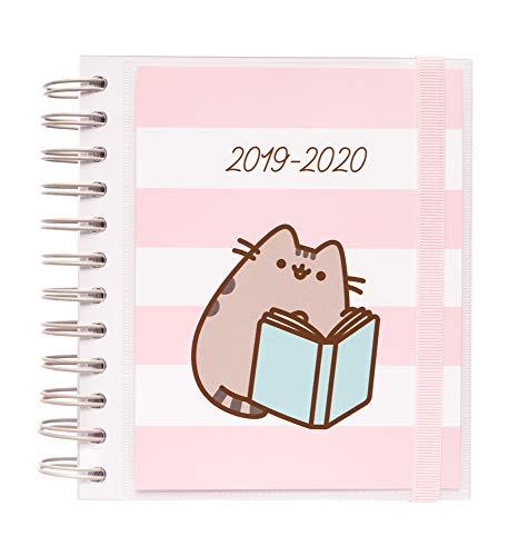 Agenda escolar 2019/2020 día página M Pusheen Gold