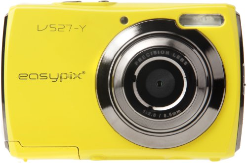 Easypix V527 Candy Digitalkamera gelb 5MP + Tasche