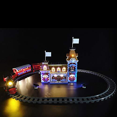 Seciie Jeu De Lumières Kit déclairage LED pour Lego 71044 Disney Train and Station (Lego Modèle Non Inclus)