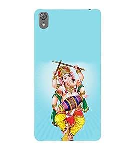 Print Masti Designer Back Case Cover for Sony Xperia E5 Dual :: Sony Xperia E5 (Garba Dolak Durga Raas Ganpati )