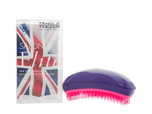 Tangle Teezer Salon Elite Brush, lila/rosa, 1er Pack (1 x 1 Stück) Bc Compact