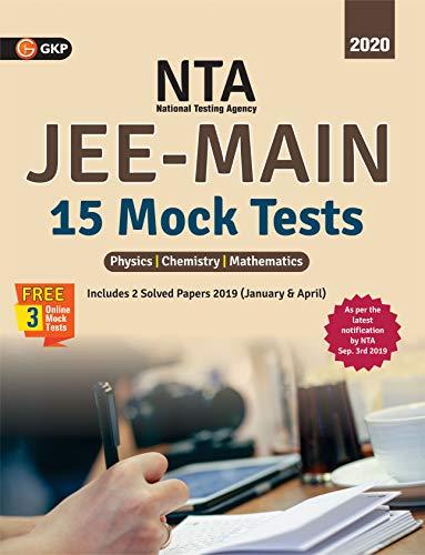 NTA (National Testing Agency) JEE Mains - 15 Mock Tests