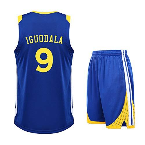 ZWXYA Camisa Aficionados Warriors Durant Jersey para Hombre 35 30 Niño,B9,L(160-165CM)