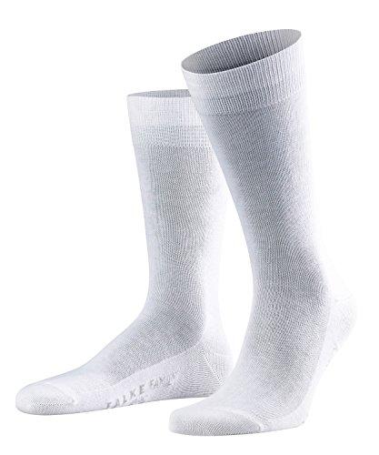 FALKE Herren Socken Family, 94% Baumwolle, 1 Paar, Weiß (White 2000), Größe: 43-46