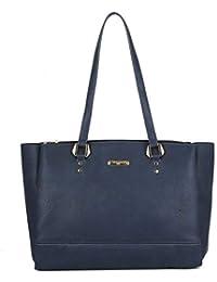 f776a7f893f20 David Jones - Damen Große Handtasche - Tote Shopper PU Leder - Henkeltasche  Schultertasche - Multi Pocket Umhängetasche - Große…