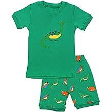 Niños pijama dinosaurio conjuntos de ropa de los niños Set niños algodón ...