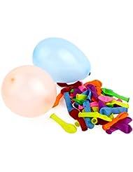 Belmalia Wasser-bomben Mega-Pack Wasser-ballons Luft-ballon Rot Gelb Lila Blau Orange Pink Grün Bunt