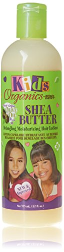 Africa's Best Kids Organics Shea Butter Detangling Moisturizing Hair Lotion 355ml