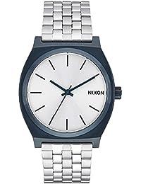 Nixon Montre bracelet Mixte à Quartz Analogique en Acier Inoxydable a0451849