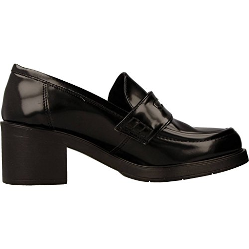 Mocassins Femme, Couleur Noir, Marque Xicc Shoes, Modèle Femme Mocassins Xicc Shoes Ex234 Noir Noir