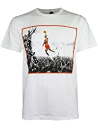 PALLAS Men's Michael Jordan NBA Super Star Basketball Sport T-Shirt
