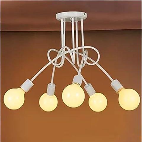 Uno stile moderno e minimalista camera da letto soggiorno ristorante Cafe lampadari luce a soffitto-G378