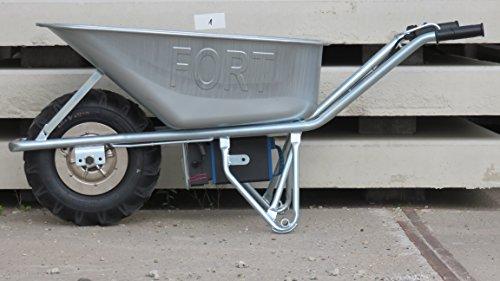 Motorschubkarre Elektroschubkarre E-PowerBarrow Heavy Duty pro 100l lithium - 3