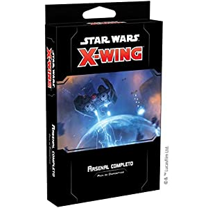 Fantasy Flight Games- Star Wars X-Wing 2.0 - Arsenal Completo, Color (SWZ65ES)