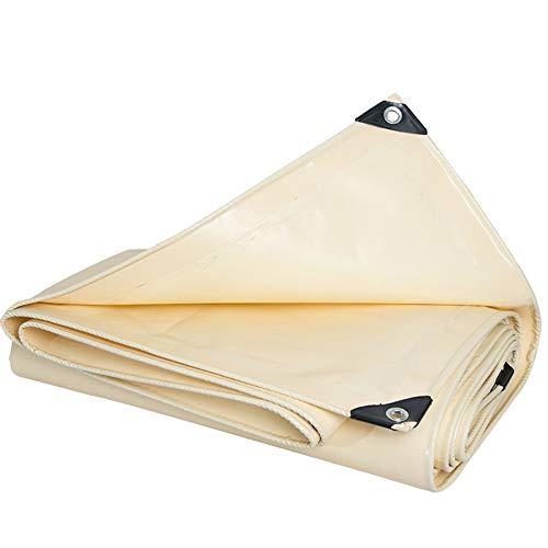 HHT Wasserabweisende Wasserdichte Plane/wasserdichtes Sonnenschutzmesser mit Schabergewebe/Sonnenschutz-Markisentuch (größe : 5 * 6m)