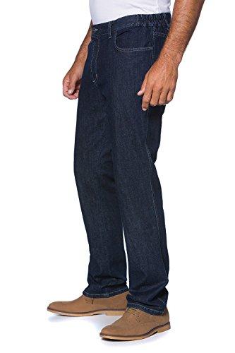JP 1880 Herren große Größen bis 70 | Jeans 5-Pocket-Schnitt | Denim Hose mit Stretch | Stretch, Baumwolle & 5 Taschen | Regular Fit | darkblue 58 702468 93-58 (5-pocket-arbeit Jean)