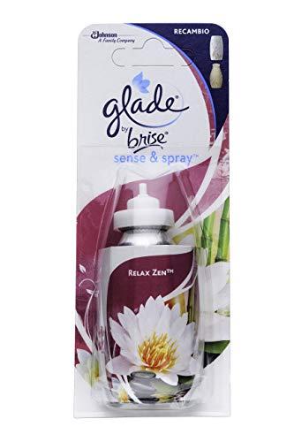 Glade By Brise - Recambio para Ambientador Eléctrico Sense Spry Relax Zen 18