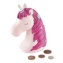 Floss & Rock 3D Resin Money Banks (Unicorn)