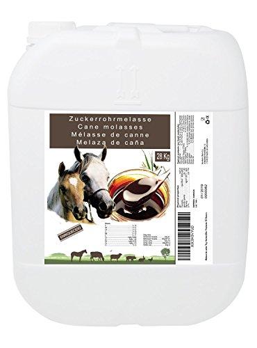 Molasses Zuckerrohrmelasse 28 kg, hoher Energiewert, Tierverwendung, empfohlen für Pferde. Produkt CE