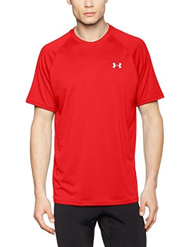 Under Armour Men's Tech Short Sleeve T-Shirt - Red, Medium