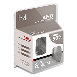 AEG Automotive 97260 Glühlampe Weiß H4, 60/55 W, 2-er Set