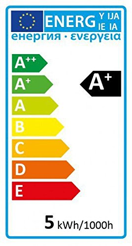 IP44 LED Einbaustrahler Set Bicolor (chrom / gebürstet) mit LED GU10 Markenstrahler von LEDANDO – 5W DIMMBAR – warmweiss – 110° Abstrahlwinkel – Feuchtraum / Badezimmer – 35W Ersatz – A+ – LED Spot 5 Watt eckig - 6