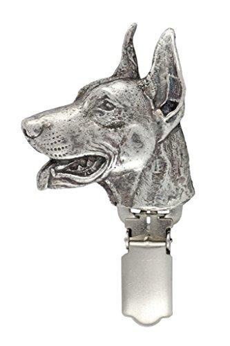 Dobermann, Hund, Hund clipring, Hundeausstellung Ringclip/Rufnummerninhaber, limitierte Auflage, Artdog - 6
