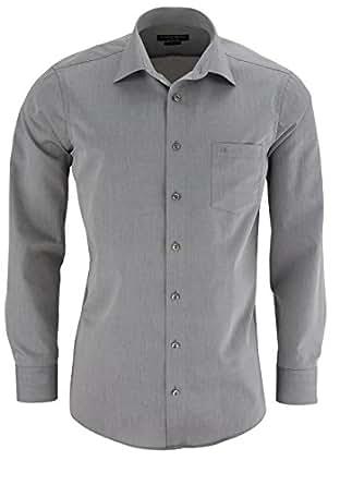 CASAMODA Langarm-Hemd mit Brusttasche in vielen Farben [Textilien]