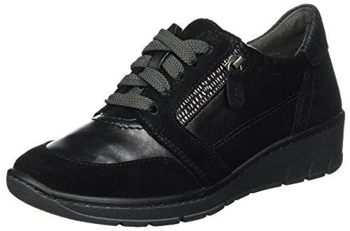 23701, Sneakers Basses Femme, Noir (Black), 37 EUJana