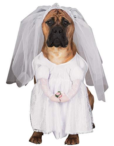 Braut Hund Kostüm ()