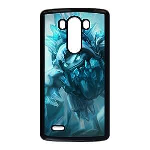 League Of Legends Freljord Rammus Coque LG G3 Coque cas de téléphone portable de téléphone portable Case Black F9S4AX5R Coque Pour Garçons personnalisée