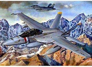 Trumpeter 03205 Modellbausatz F/A-18F Super Hornet