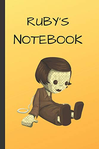 Ruby's Notebook: Doll  Writing 120 pages Notebook Journal -  Small Lined  (6