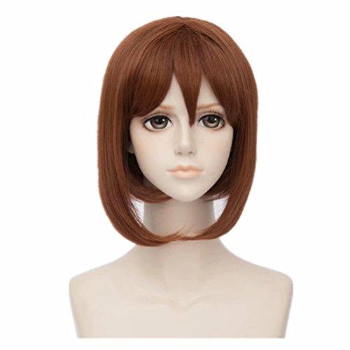 Fan Browns Kostüm - COSPLAZA Anime Convention Cosplayer Fans Cosplay Perücke Brown Short Girl Kostüm Rollenspiel Perücken
