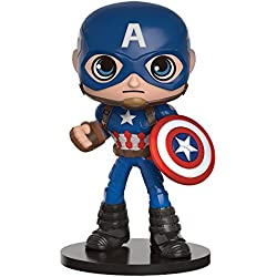 Figura Bobble Heads Marvel Captain America Civil War Wobblers - Captain America