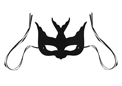 Venezianische Augenmaske Holloween Weinachten Party Kostüm Accessoires für Erwaschsene Kinder Maskenball Fasching (Kostüme Muster Holloween)