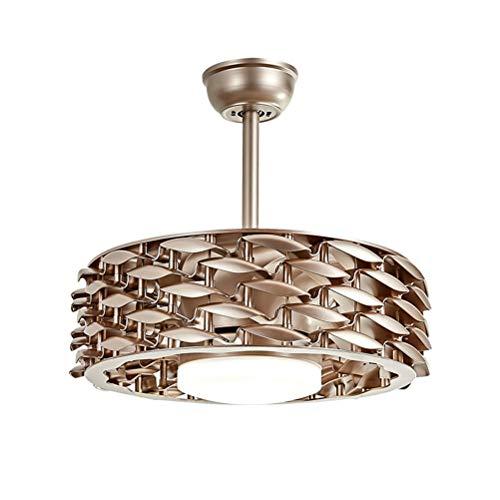 Ventiladores de techo de 42 pulgadas con lámpara, ventilador sin hojas, iluminación...