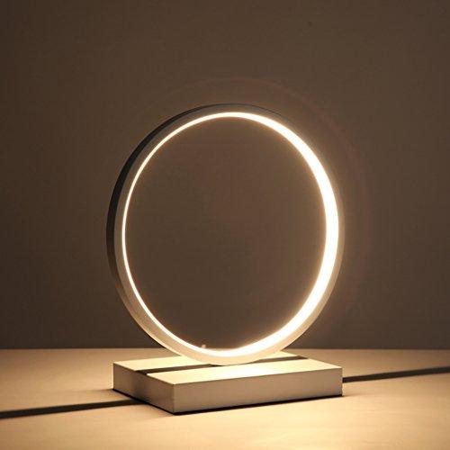 Ywyun Lámpara LED de intensidad regulable, de aluminio moderna iluminación creativa simple, la decoración del hogar cama salón dormitorio den CFL ( Color : B )