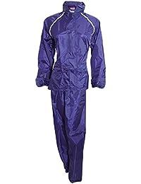 ProClimate - Conjunto impermeable de chaqueta y pantalones para mujer