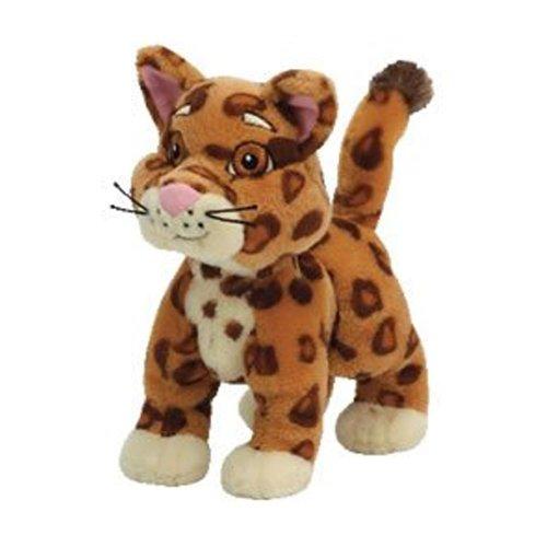 Ty Beanie-Baby-Ansammlung Doras Freund-Baby-Jaguar