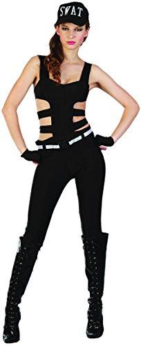 SWAT Kostüm für Damen S (Swat Frauen Kostüme Für)