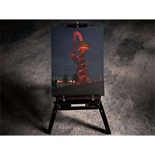 Canvas Print of ArcelorMittal Orbit, STRATFORD Olympic PARK. Full Colour Art. 30 x 20 inch