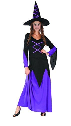 wn re99836Fankollektion Kostüm Hexe, Größe 14/16Jahre (Kostüm Sorciere)