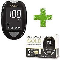 GlucoCheck GOLD Starter-Set [mg/dl] mit 60 Blutzuckerteststreifen preisvergleich bei billige-tabletten.eu